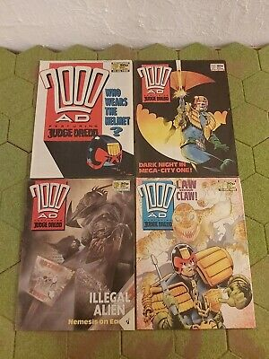 2000AD 4 X Progs 584 To 587 Good Condition  • 4.99£