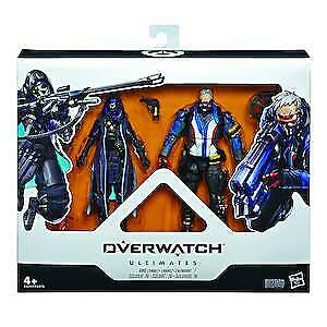 Overwatch Ultimates Shrike Ana & Soldier 2pk Action Figure • 46.99£