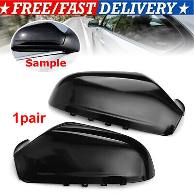 Left Right Side Wing Mirror Cover Cap Casing For Vauxhall Astra H MK5 2004-2009 • 17.98£