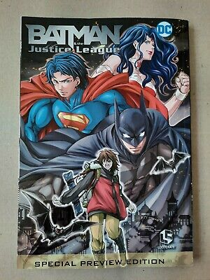 Batman & The Justice League DC Comics/LootCrate Special Preview Edition (MANGA) • 7.99£