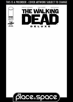 (wk41) The Walking Dead Deluxe #1f - Blank Variant - Preorder Oct 7th • 3.90£