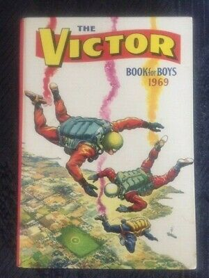 The Victor Book For Boys 1969 • 14.99£