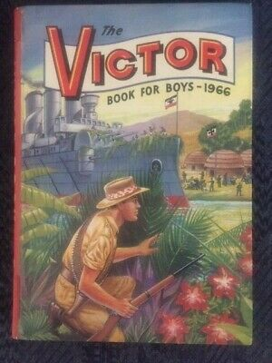 The Victor Book For Boys 1966 • 15£