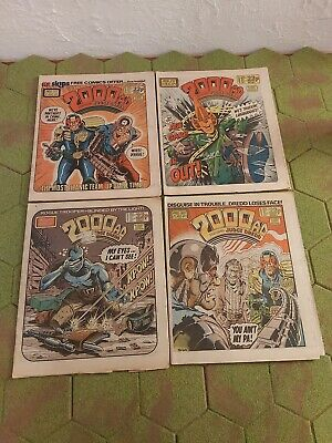 2000AD 4 X Progs 377 To 380 Good Condition  • 3.99£