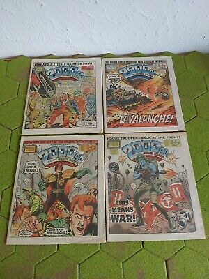 2000AD 4 X Progs 407 To 410 Good Condition  • 3.99£