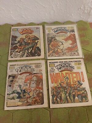 2000AD 4 X Progs 366 To 369 Good Condition  • 3.99£