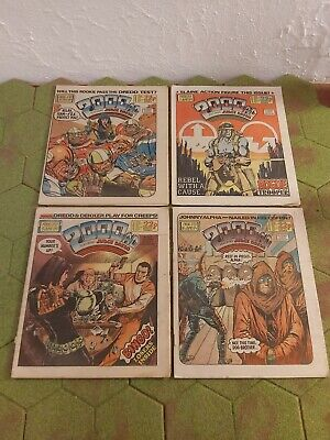 2000AD 4 X Progs 370 To 373 Good Condition  • 3.99£