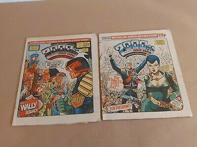 2000AD 2 X Progs 390 & 393 Average To Good Condition  • 2.99£