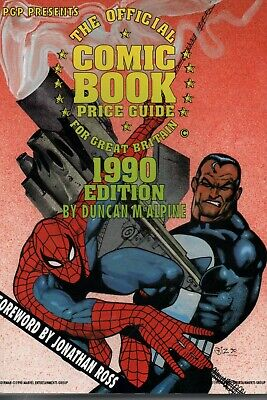 Official Comic Book Price Guide For Great Britain (D McAlpine)  1990 Very Fine • 7.99£