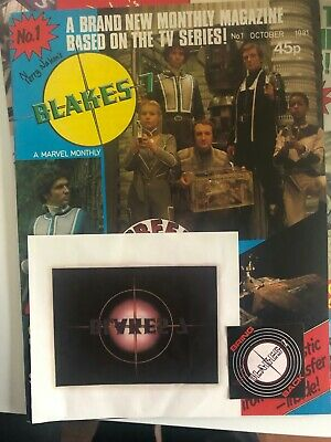 Blake's 7 Terry Nation Monthly Magazines Complete  Collection • 99£