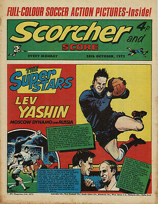 Scorcher And Score - 28 October 1972 - Leicester - Sheff Wed - Bristol Rovers • 0.99£