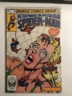 PETER PARKER - THE SPECTACULAR SPIDER-MAN - No 74 - Date 01/1983 - Marvel Comic • 7.44£