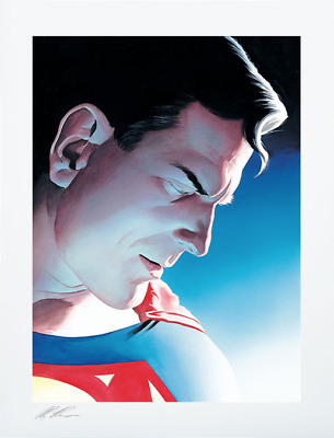 Alex Ross SIGNED Superman Peace On Earth Sideshow Exclusive Art Print #228/250 • 221.72£