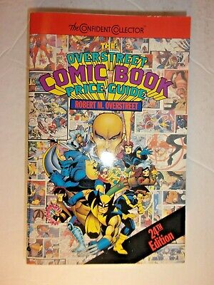Overstreet The Comic Book Price Guide No. #24  PAPERBACK • 6.60£