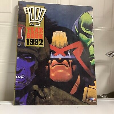 2000 AD Year Book 1992 Annual Paperback Fleetway • 4.99£