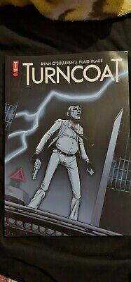 Turncoat Comic Book Graphic Novel • 2£