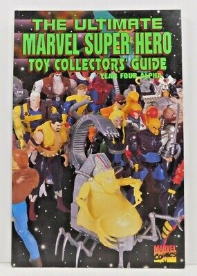 Ultimate MARVEL Super Hero Toy Collectors Guide Year Four Alpha Vol 1 No 4 NF • 7.34£