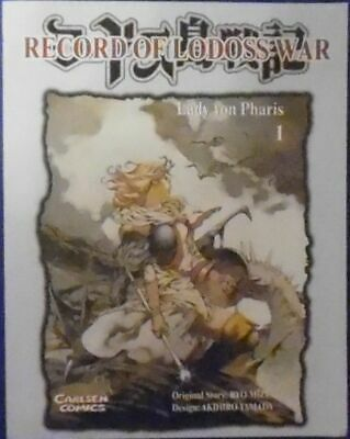 Record Of Lodoss War - Lady Von Pharis 1 • 26.04£