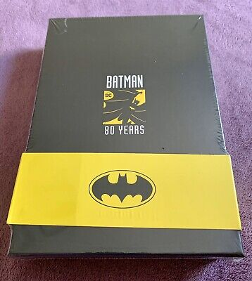 Batman 80th Anniversary Limited Edition Pin & Art Card Set Sealed DC Comics Rare • 34£