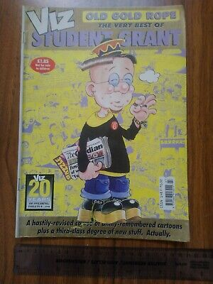 Viz Old Gold Rope - The Very Best Of Student Grant (2000). VGC. Adults Only. • 1£