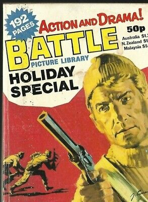 Battle Picture Library Holiday Special,ipc Magazines,1982 • 0.99£