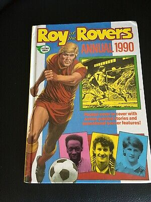 Roy Of The Rovers Annual 1990 • 1.90£