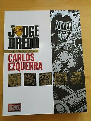 Judge Dredd The Complete Carlos Ezquerra Vol 1 Signed And Numbered 2000ad V.rare • 199.99£