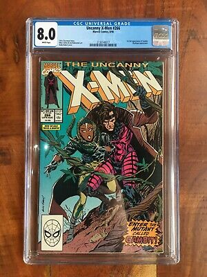 UNCANNY X MEN 266 (First Full Appearance Of Gambit) 1990 CGC 8.0 • 129.99£