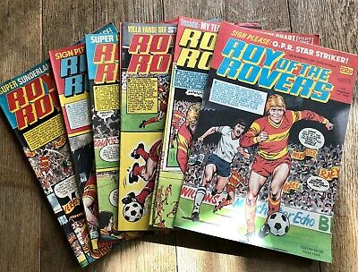 Roy Of The Rovers Comics 1984 - 22 Editions, All Different Dates • 12£
