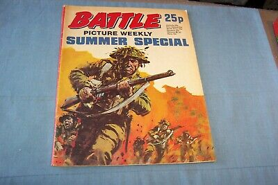 Battle Picture Weekly Summer Special 1975 • 4.99£