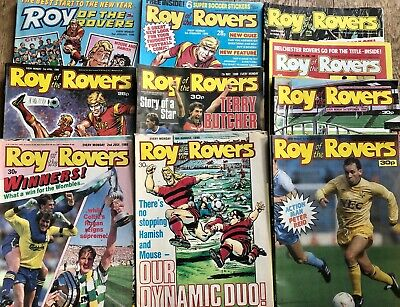 Roy Of The Rovers Comics - 1988, 42 Editions 2nd Jan - 15th Oct • 20£