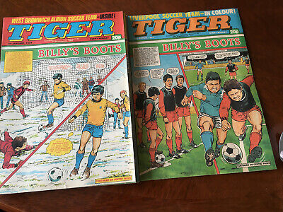 Tiger Comic 1983 X 1 And 1984 X9 Good Condition • 2.30£