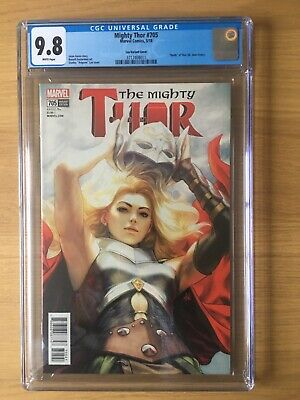 Mighty Thor 705 Artgerm Cover Cgc 9.8 Nm+ • 59.99£