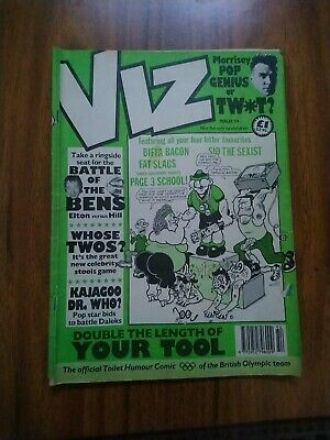 Viz Issue Number 54 June/July 1992. Adults Only. VGC. • 1£