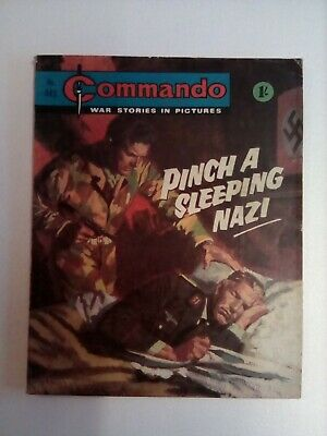 Commando Comics No 445 Pinch A Sleeping Nazi • 3.20£