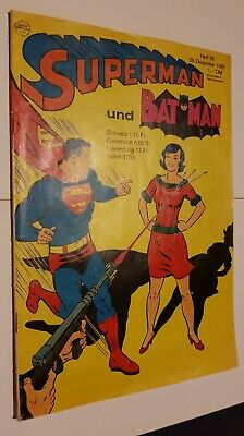 Supermann Nr.26 Von 1968,Zst.1,Ehapa,Comic,Superhelden,Sammlung,Vintage • 44.40£