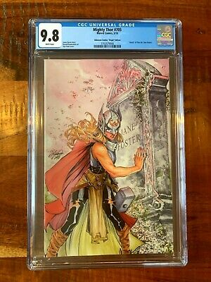 Mighty Thor 705 Unknown Comics Oum Exclusive Virgin Variant CGC 9.8 NM+ • 79.99£
