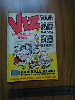 Viz Issue Number 55 August/September 1992. Adults Only. • 0.99£