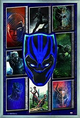 BLACK PANTHER - MOVIE COLLAGE POSTER - 22x34 MARVEL COMICS 16059 • 6.04£
