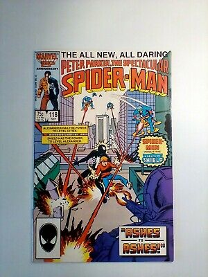 Spectacular Spider-Man 118 - 1st Appearance Of The 1400 Club & Freddie Helms! • 1.99£