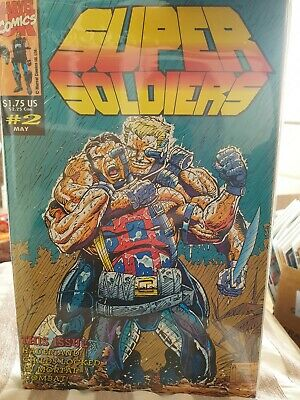 Super Soldiers # 2 -  Marvel Comics UK Bagged And Boarded • 3£