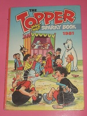 The Topper Book 1981 (unclipped) • 4.49£