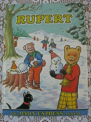 1974 Rupert Bear Annual Price Intact Very Good Condition • 3£
