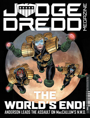 JUDGE DREDD - THE MEGAZINE - ISSUE 390 With SUPPLEMENT (2000AD) - NEW* 2017 • 3.97£