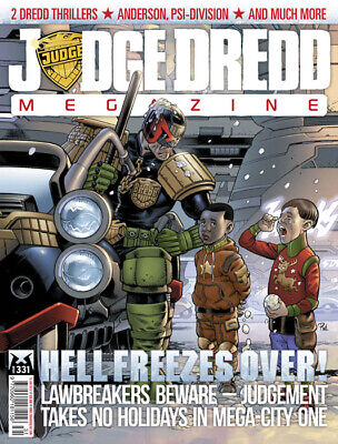 Judge Dredd - The Megazine - Issue 331 - Meg Only (2000ad) - Excellent Condition • 3.47£