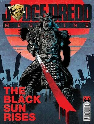 Judge Dredd - The Megazine - Issue 333 - Meg Only (2000ad) - Excellent Condition • 3.47£