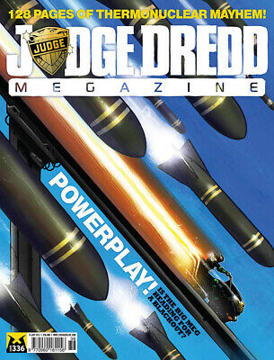 Judge Dredd - The Megazine - Issue 336 - Meg Only (2000ad) - Excellent Condition • 3.47£