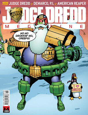 Judge Dredd - The Megazine - Issue 355 - Meg Only (2000ad) - Excellent Condition • 3.47£