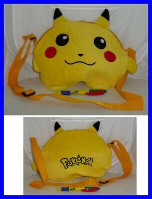 Pikachu Pokemon Bag Purse Plush 30x22cm Cosplay New • 8.33£