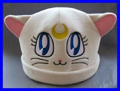 Hat Plush Artemis Cat Sailor Moonkun Japan Anime Manga New Cosplay • 8.06£
